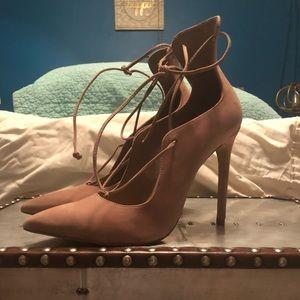 Aldo strappy stiletto heels